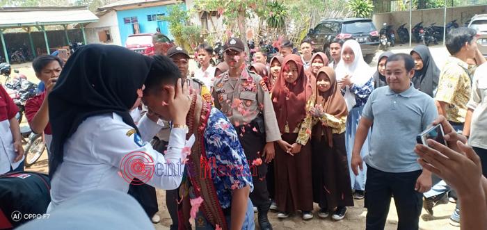 Setelah Heboh di Media, Akhirnya SMAN 1 Abung Timur Beri Penyambutan Khusus Pada Gigih