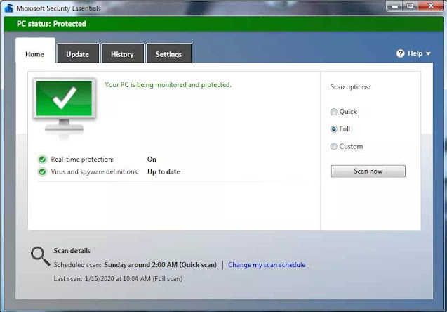 Mengatasi Virus di Windows 10