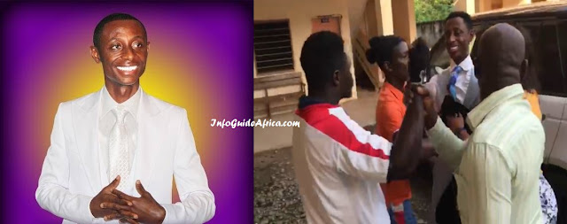 Ghanaian Pastor Attacked By Angry Customers (Photos, Video)