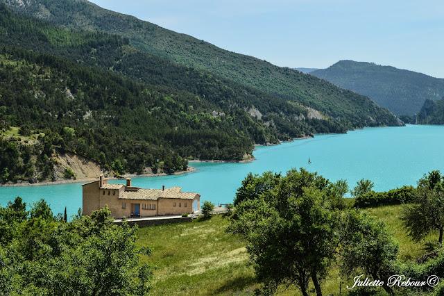 Lac de Castillon, Verdon