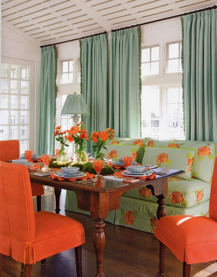 Green Interior Ideas For Your Home: Eye For Design: Decorating With Mint Green