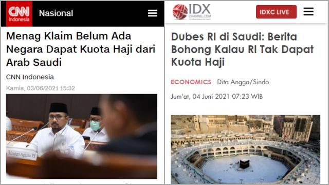 Arab Saudi Bantah Indonesia Tak Dapat Kuota Haji, Tagar <i>#MenagUnfaedah</i> Trending Topic