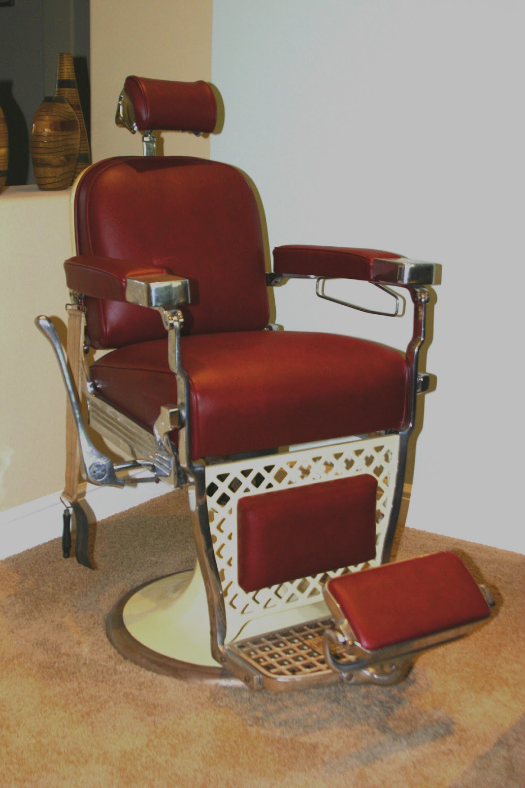 Antique Wood Barber Chair Comfy Chairs For Living Room Girl Photos มถนายน 2013