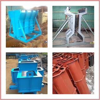 Alat Cetak Produk Precast Concrete (Beton Pracetak)