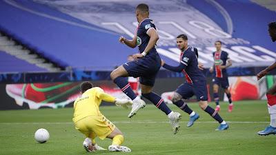 ملخص واهداف مباراة باريس سان جيرمان وموناكو (2-0) نهائي كاس فرنسا