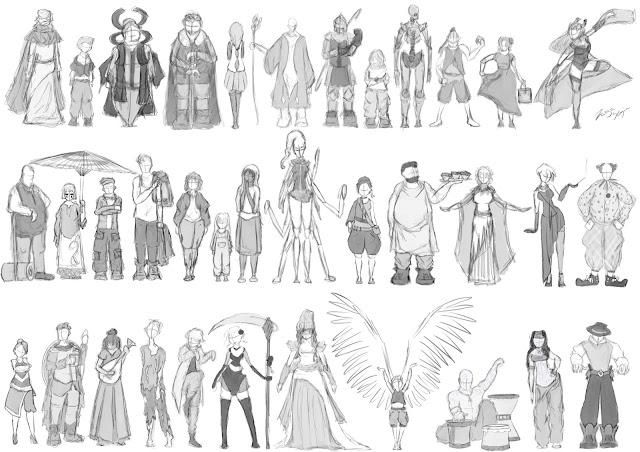 Character Concept (HH & TCoM)