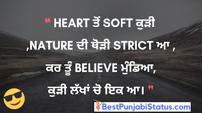 Punjabi Status Attitude