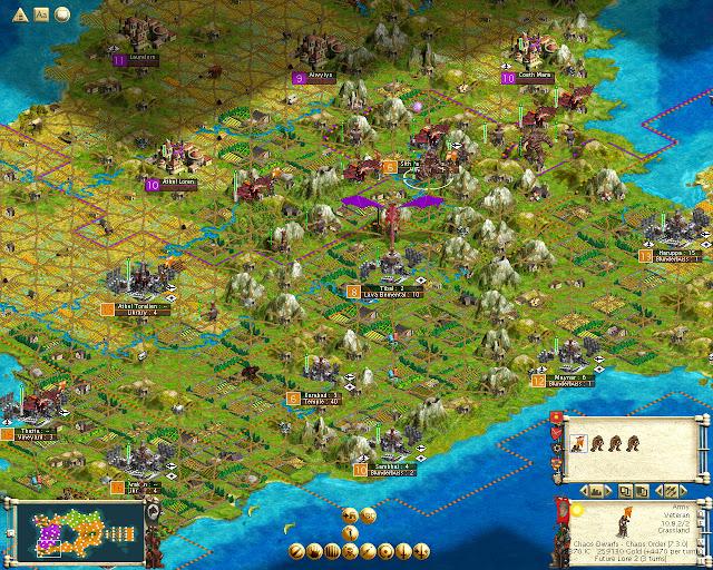 Dragon sreenshot | Civ 3 | Warhammer Fantasy Mod