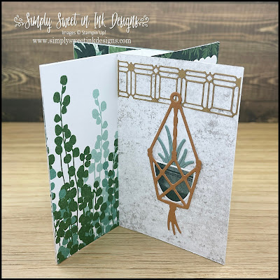 Fun pin wheel card with the Bloom Where You're Planted suite!