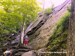 slab, buffalo corral, rumney rocks, rock climbing, new hampshire,
