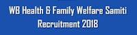 Recruitment West Bengal State Health and Family Welfare Samiti
