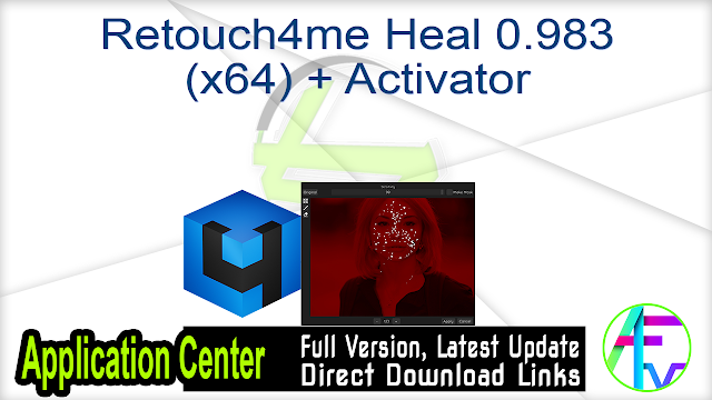 Retouch4me Heal 0.983 (x64) + Activator