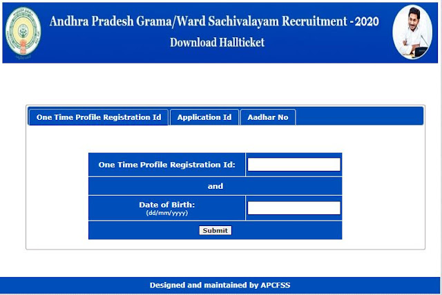 AP grama sachivalayam hall tickets released,check how to download