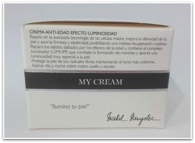 Isabel Preysler My Cream