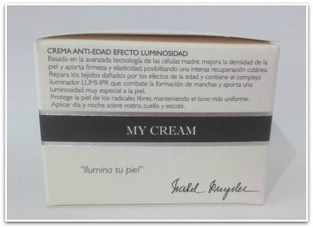 Isabel Preysler My Cream