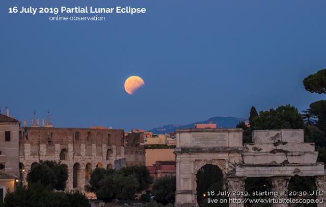Enlace para ver online el eclipse de Luna del 16 de julio
