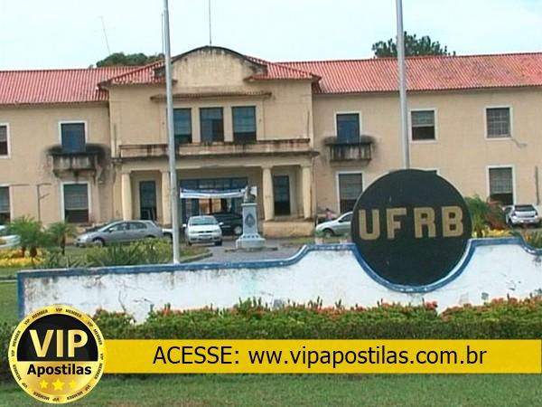 UFRB divulga concurso público de técnicos administrativos com 16 vagas