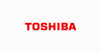 brand font toshiba