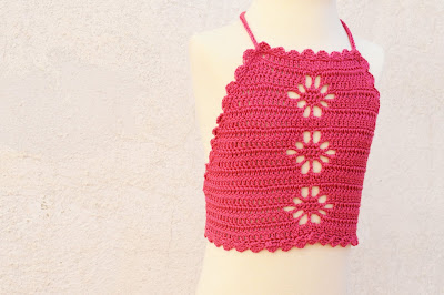 6 - Crochet Imagen Top playero a crochet y ganchillo por Majovel Crochet