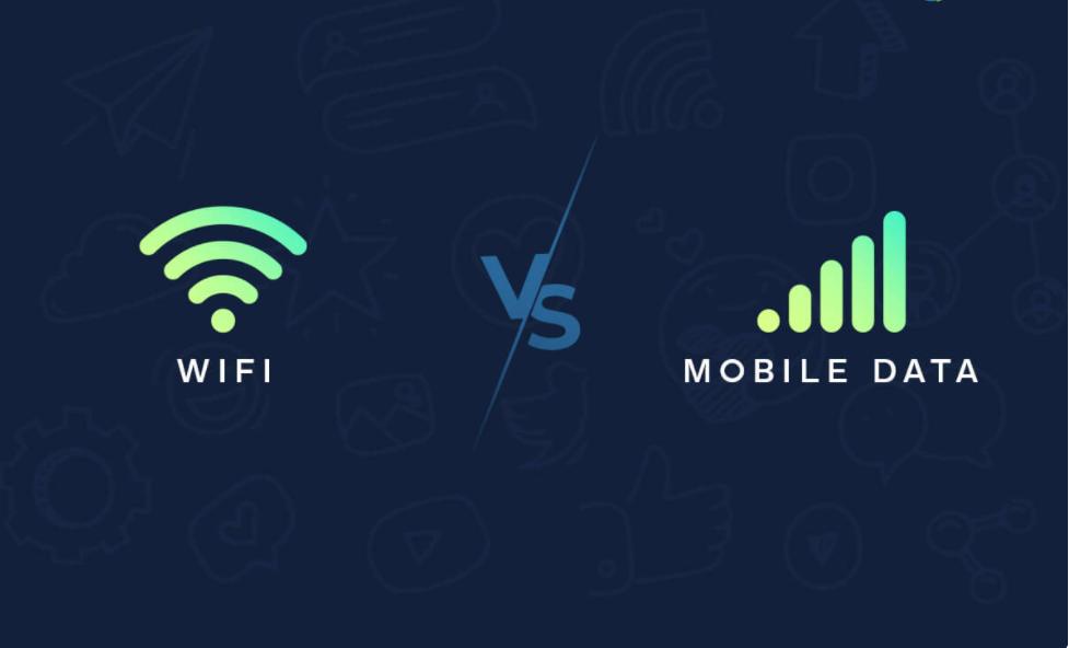 هل من الأفضل استخدام شبكة Wi-Fi أم بيانات الجوال؟