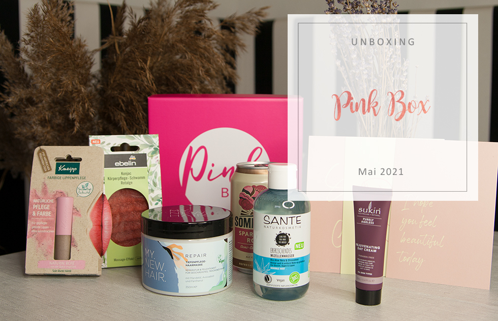 Pink Box - Mai 2021 - unboxing