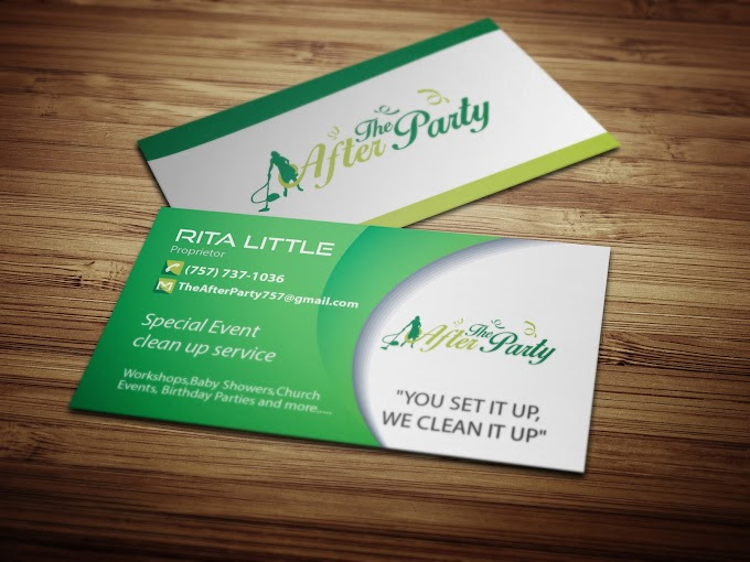 Clean Business Card    Professional business card design    visiting card