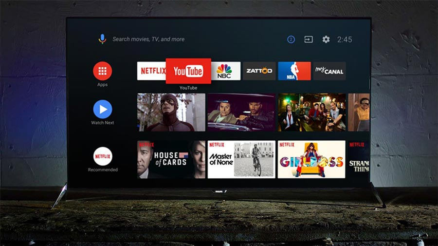 Actualización Android OREO en TV Philips