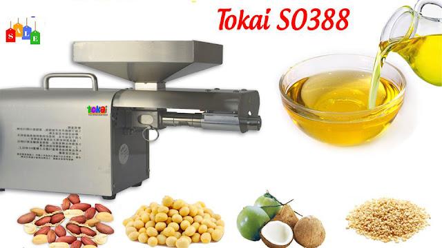 máy ép dầu ăn sạch tokai