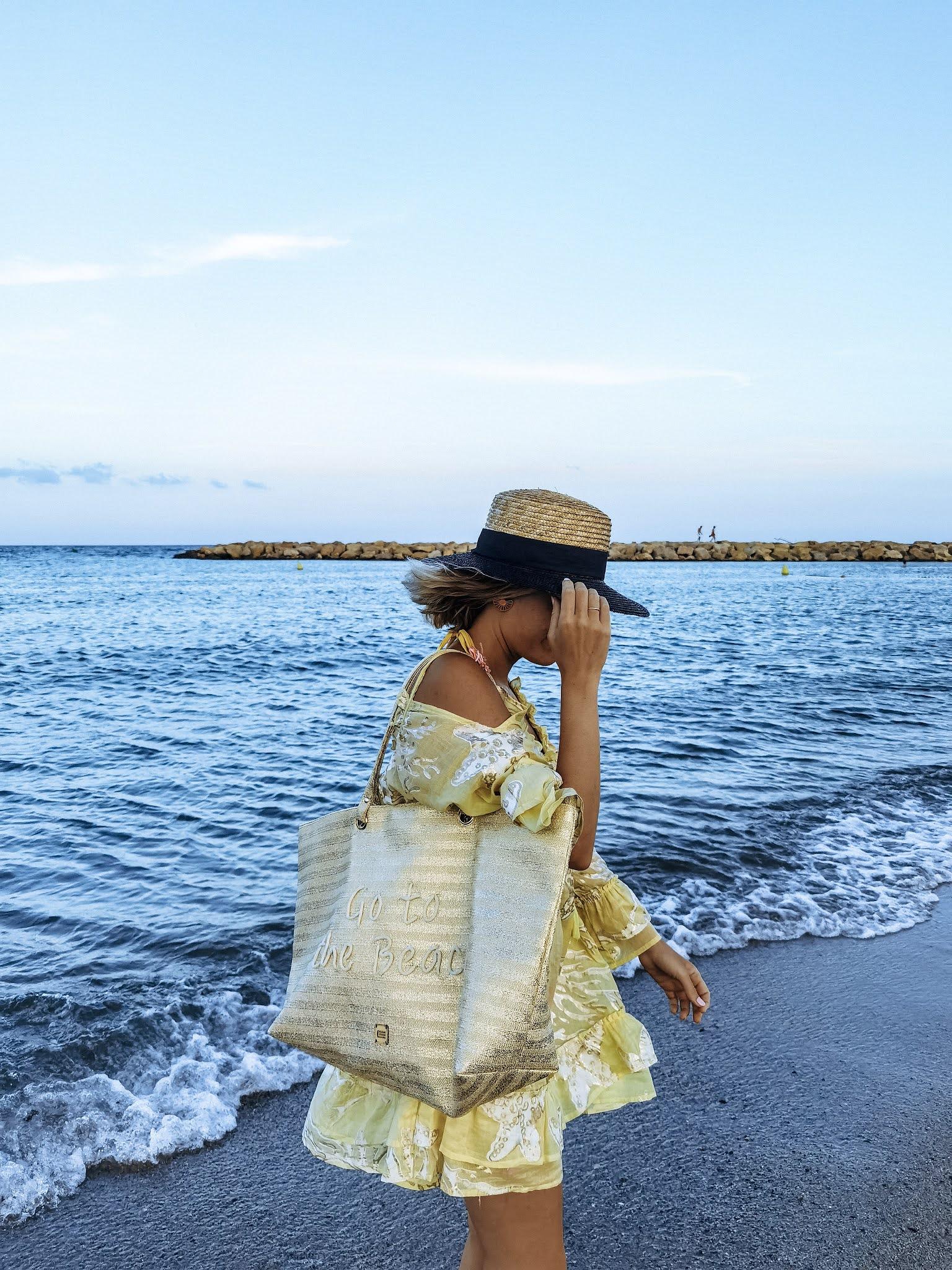 bolso de playa grande