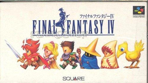 Final Fantasy IV jogo Super Nintendo