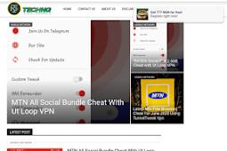 Techng Newspaper  Premium Blogger Template