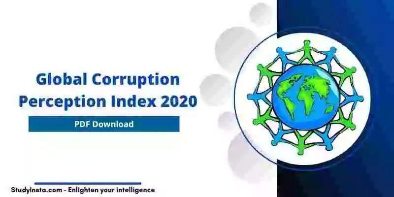 Global Corruption Perception Index 2020