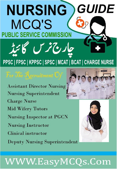 MCQs Practice Test Book Charge Nursing Guide Download