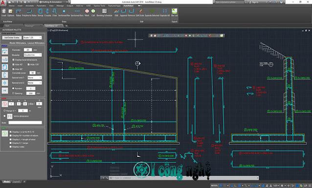 AutoRebar v2.1 for Autodesk AutoCAD 2013-2021