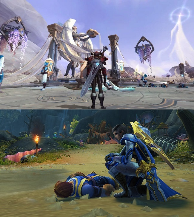 Comparison of WoW Shadowlands vs WoW Battle for Azeroth