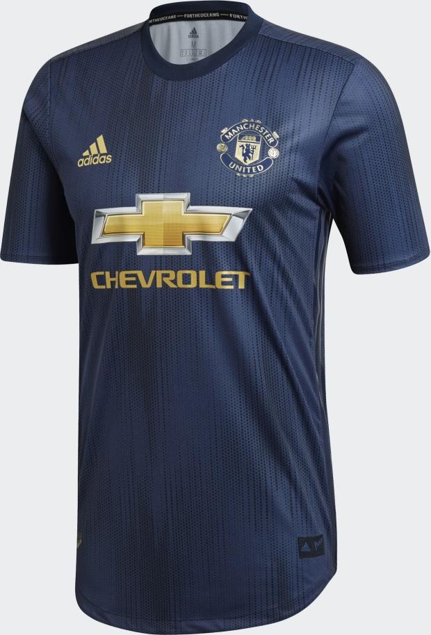 a886d58eb8 Adidas apresenta a terceira camisa do Manchester United - Show de ...