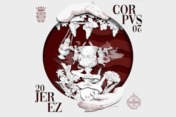 María, como primera custodia de Cristo, centra el cartel del Corpus Christi de Jerez de 2020