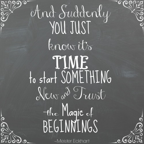 New Beginnings Quotes (2017)