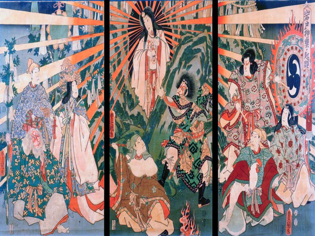 Amaterasu, Dewi Matahari
