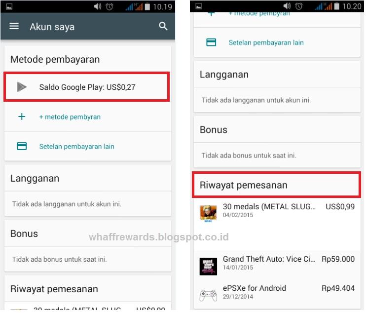 Terkini Cara Transfer Saldo Google Play Ke Akun Lain
