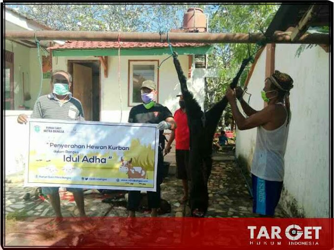 Rumah Sakit Mitra Bangsa, Berbagi Kambing Qurban di Sejumlah Desa Binaan