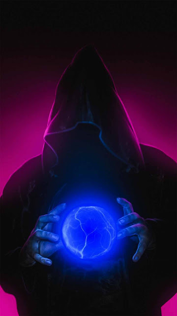 18 Silhouette Mask Neon HD wallpapers 4K 5K for iPhone and Android