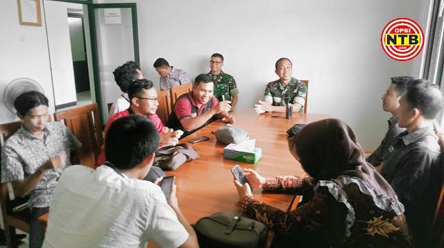 JOIN dan TNI Sepakat Perangi Berita Hoax dan Kawal Pilkada KSB 2020