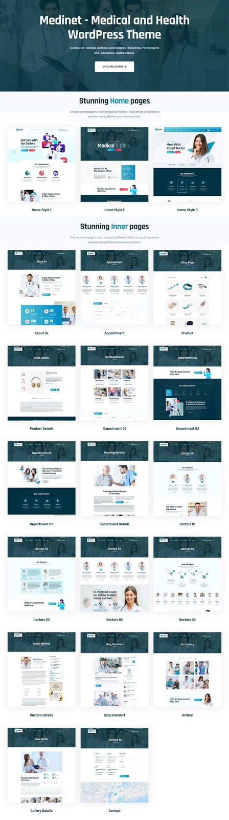 Medical and Health WordPress Template