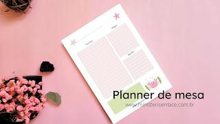 planner de mesa