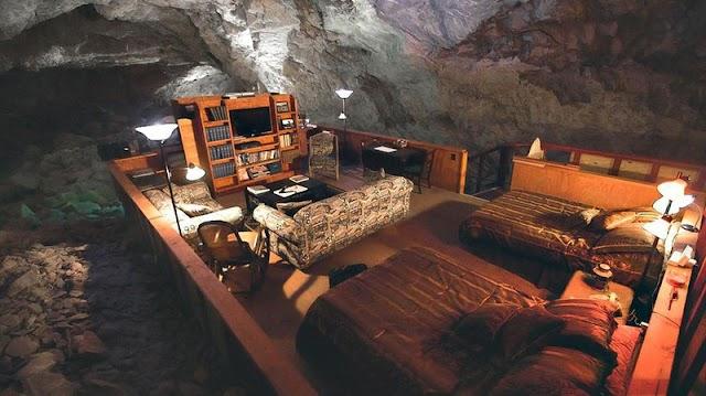 Super luxury hotels underground