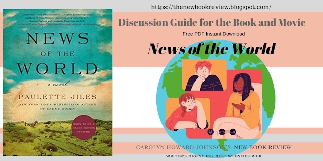 News of the World Book and Movie Discussion Questions Free Guide