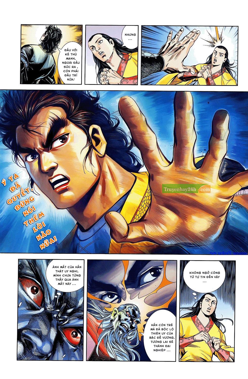 Tần Vương Doanh Chính chapter 21 trang 27