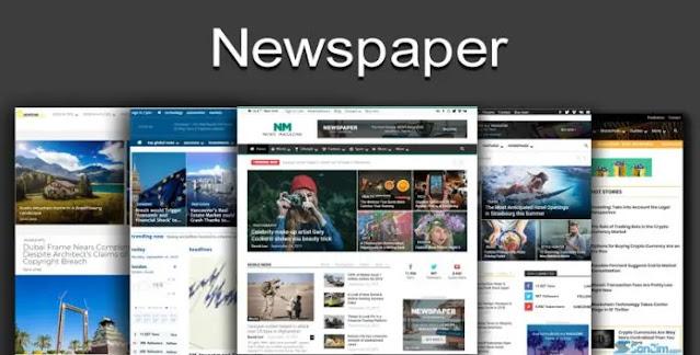 Theme Newspaper: A perfect WordPress theme for news blogs