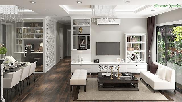 thiết kế căn hộ tiện nghi sang trọng